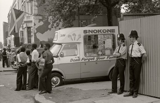 Londres 1976 - Photo Gilles Walusinski