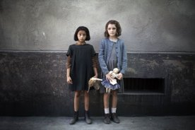 L'Amie prodigieuse (épisode1): udovica Nasti (Lila), Elisa Del Genio (Elena)