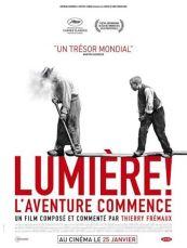 Lumière ! l'aventure commence, un documentaire de et avec Thierry Frémaux