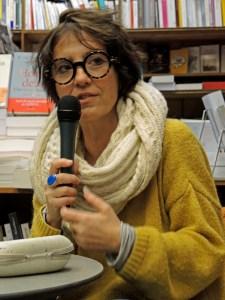 Marie Cosnay à Paris en 2017 © Gilles Walusinski
