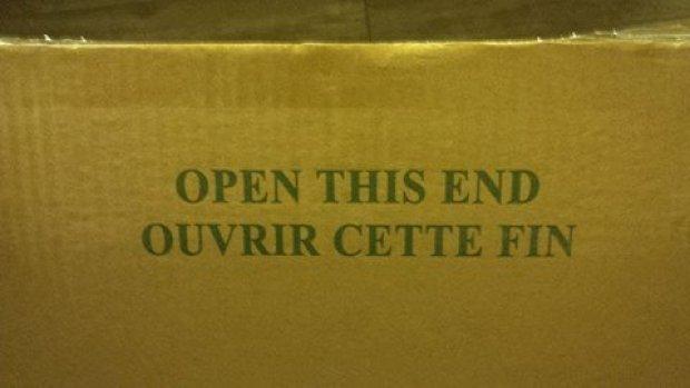 Open this end / Ouvrir cette fin / Traductions de merde / Jean-François Vachon