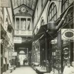 Le Passage Choiseur à Paris, par Charles Joseph Antoine Lansiaux, 1916 ©Musée Carnavalet