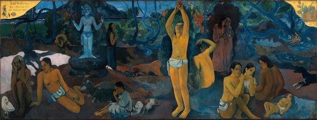 """Paul Gauguin, """"D'où venons-nous? Que sommes-nous? Où allons-nous?"""" (1897)"""