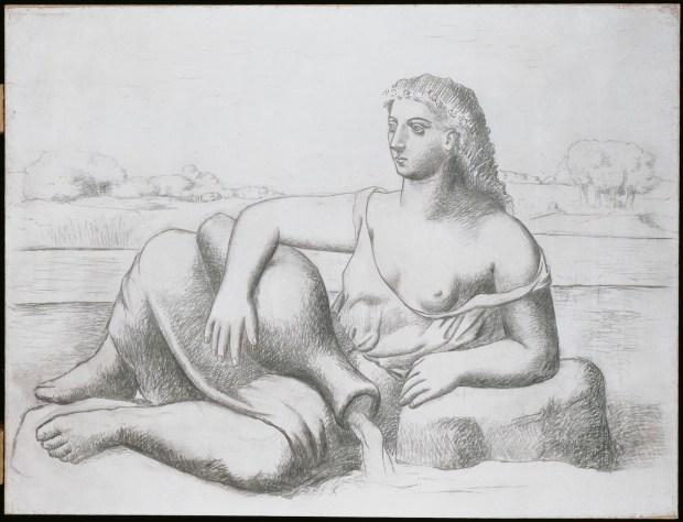 Picasso, La Source (été 1921)