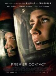 Premier contact, de Denis Villeneuve, avec Amy Adams, Jeremy Rener…