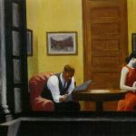 Room in New York, Edward Hopper, 1932