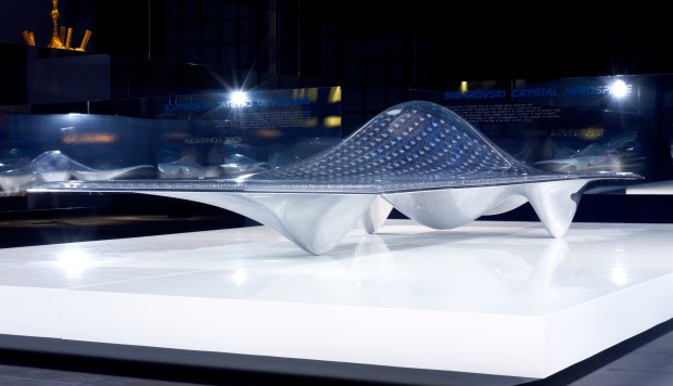 Ross Lovegrove, Swarovski Crystal Aerospace