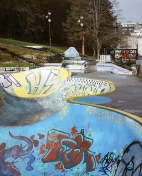 Skatepark Annecy. Photo Cyrille Weiner, 2016