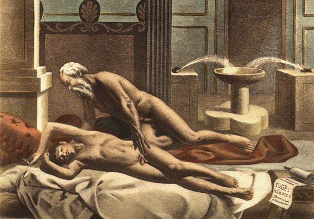 Socrate et Alcibiade, par Paul-Henri Avril