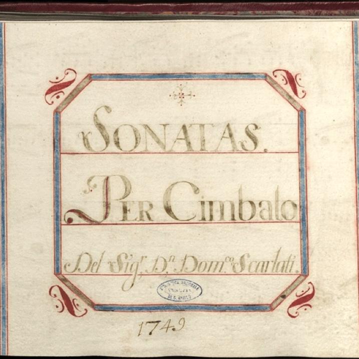 Scarlatti manuscrit biblioteca marciana