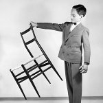 Chaise « Superleggera », 1957. Fabricant: Cassina © Gio Ponti Archives, Milan