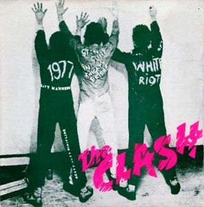 The Clash - White Riot single sleeve