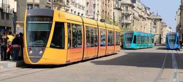 Tramway de Reims (photo Lunon92)