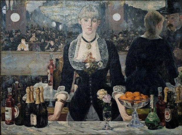 Edouard Manet - Un bar aux Folies Bergère