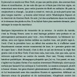 Antoine de Baecque, un marcheur à New York, chapitre 13