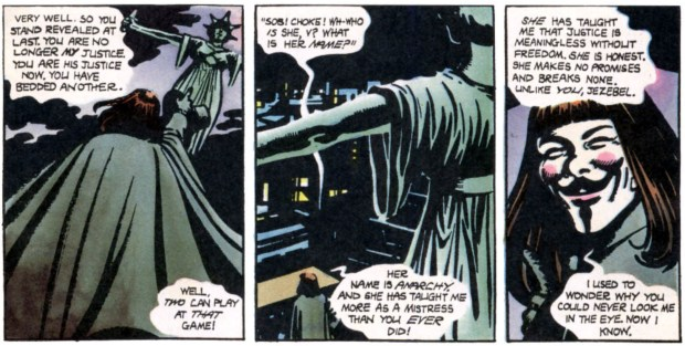 V for Vendetta © DC Comics – 1988-1989