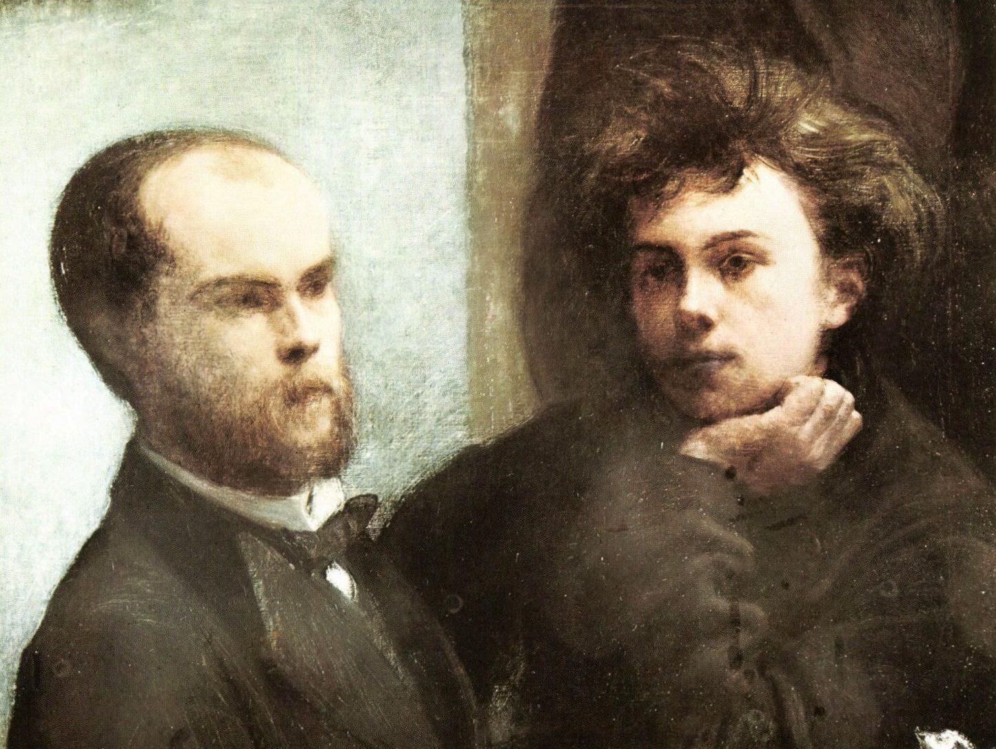 Rimbaud et verlaine autour d un trou du cul - Un coin de table fantin latour ...