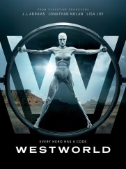 Westworld, série TV créée par Jonathan Nolan et Lisa Joy, avec Evan Rachel Wood, Anthony Hopkins, Ed Harris, Thandie Newton…