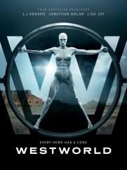 Westworld, série TV créée par Jonathan Nolan et Lisa Joy, avec Evan Rachel Wood, Anthony Hopkins, Ed Harris, Thandie Newton…