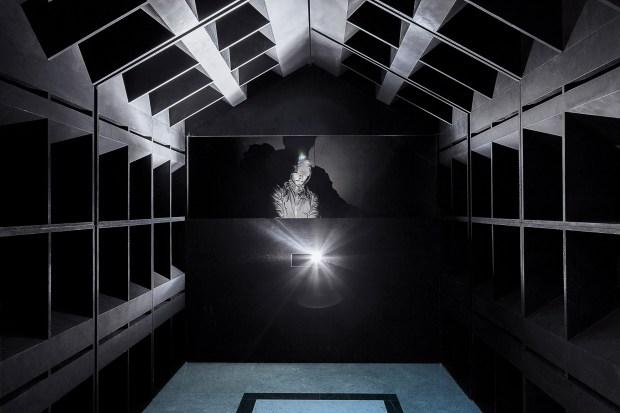 The Club, installation éphémère, Lisbonne, 2016. Architectes: Bureau (Léopold Banchini, Daniel Zamarbide). Photographie: Mariana Lopes. Courtesy Bureau A