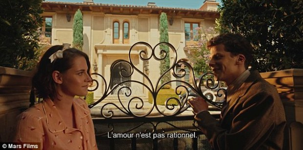 Jesse Eisenberg et Kristen Stewart dans Café Society, de Woody Allen (une critique cinéma de Thomas Gayrard dans Délibéré)