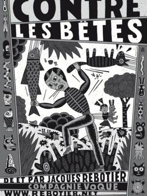 Contre les bêtes de Jacques Rebotier au festival d'Avignon 2019