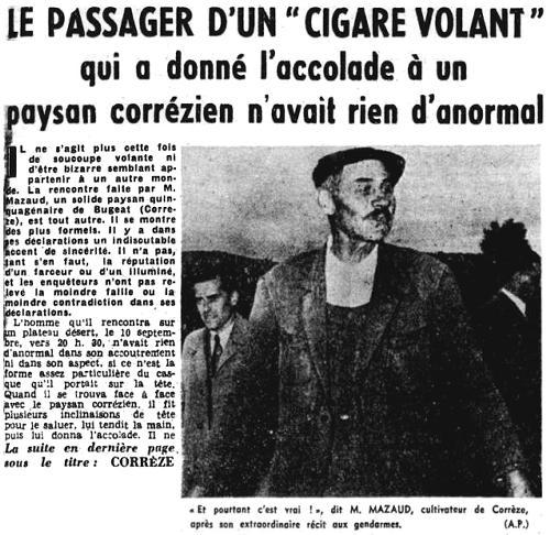 Nord-Eclair du 16 septembre 1954
