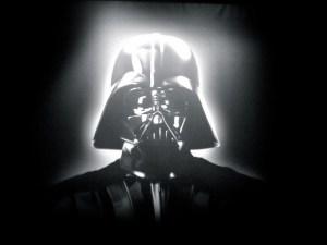 Jean-Luc Mélenchon et son hologramme