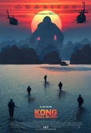 Kong : Skull Sland, de Jordan Vogt-Roberts, avec Tom Hiddelston, Brie Larson, John C.Reilly…
