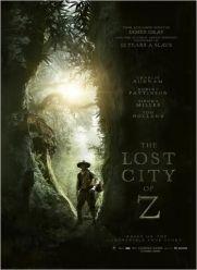 The Lost City of Z, de Charlie Hunnam, Robert Pattinson, Sienna Miller…