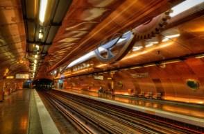 Métro de Paris, ligne11, station Arts et métiers