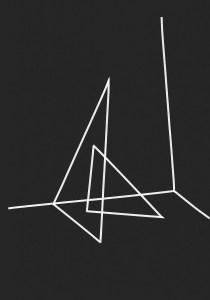 Lucie Le Bouder, Scene #8, 2016, ruban adhésif sur papier 29,7 x 21 cm. Courtesy Galerie 22,48m2