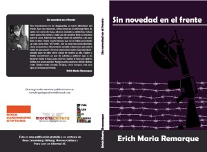 Erich Maria Remarque, Sin novedad en el frente (À l'ouest rien de nouveau), éditions Para leer en libertad
