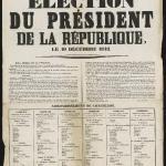 Élection du président de la République, 10 décembre 1848 - Liberté Egalité Fraternité