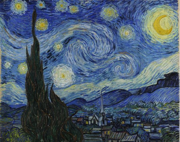 Vincent Van Gogh, La Nuit étoilée (1889) / X-Men Apocalypse, de Bryan Singer, avec Jennifer Lawrence, James Mc Avoy, Michael Fassbender... Une critique cinéma de Thomas Gayrard dans Délibéré
