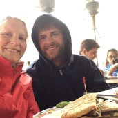 A chilly day at Goza Bar, but they turned heaters on. The veggie panini is excellent!!