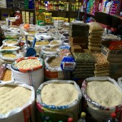12 de Agosto Market- rice, grains, seeds, pet food, dried cane syrup ...