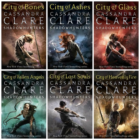 Image result for Recent city of bones Book covers