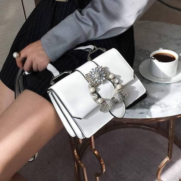Sac Fashion Designer Diamand Elégant et de haute qualité 5