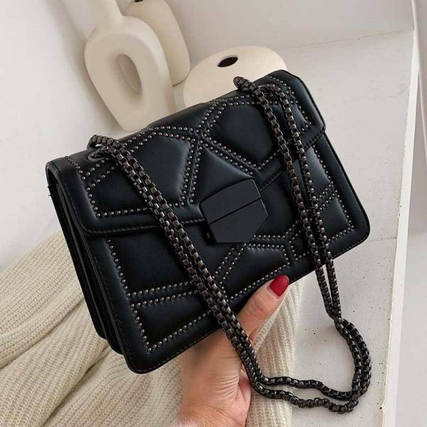 Women's Small Bag with Chain 8