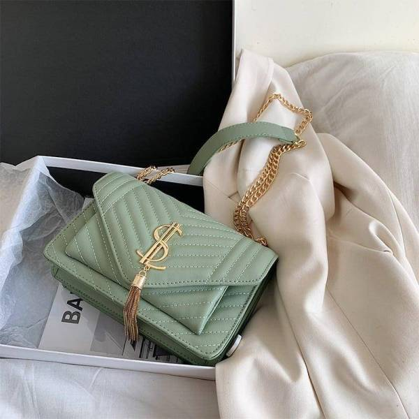 Luxury Leather Shoulder Handbag for Women