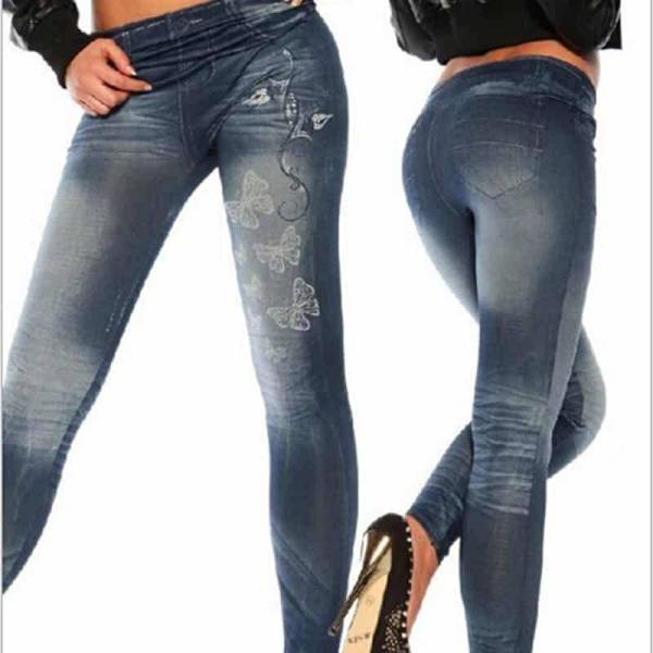 Jeans Leggings Sexy imprimés 7
