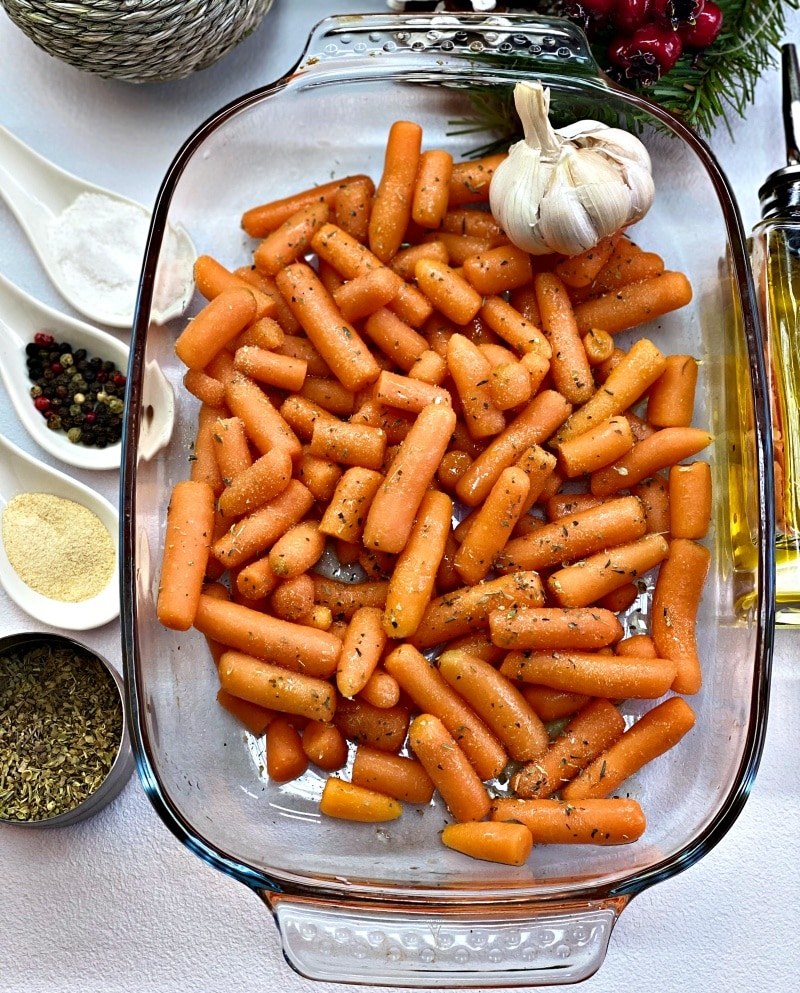Baby carrots ingredients