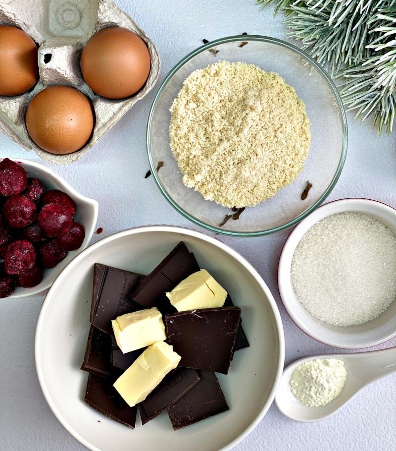 Chocolate Crispy Cookies ingredients