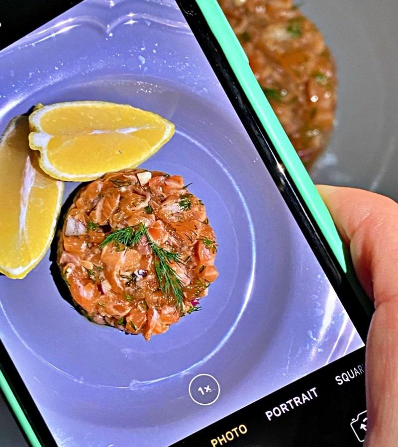 Salmon tartar pinterest