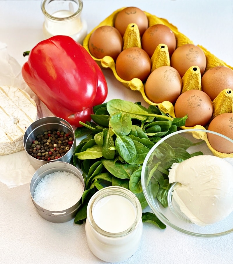 Egg muffins ingredients