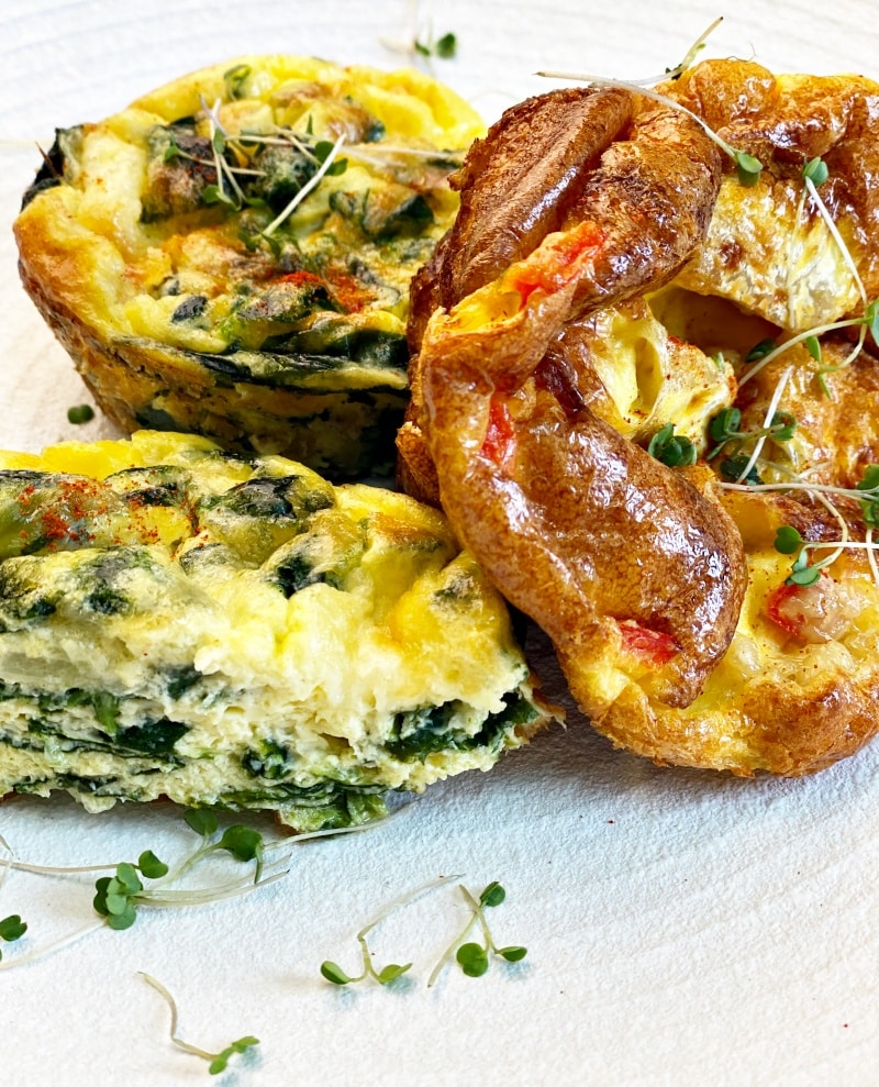 Keto Breakfast Egg Muffins
