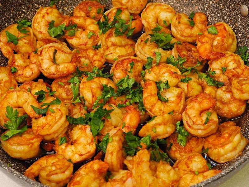 Garlic Butter Grilled Shrimp