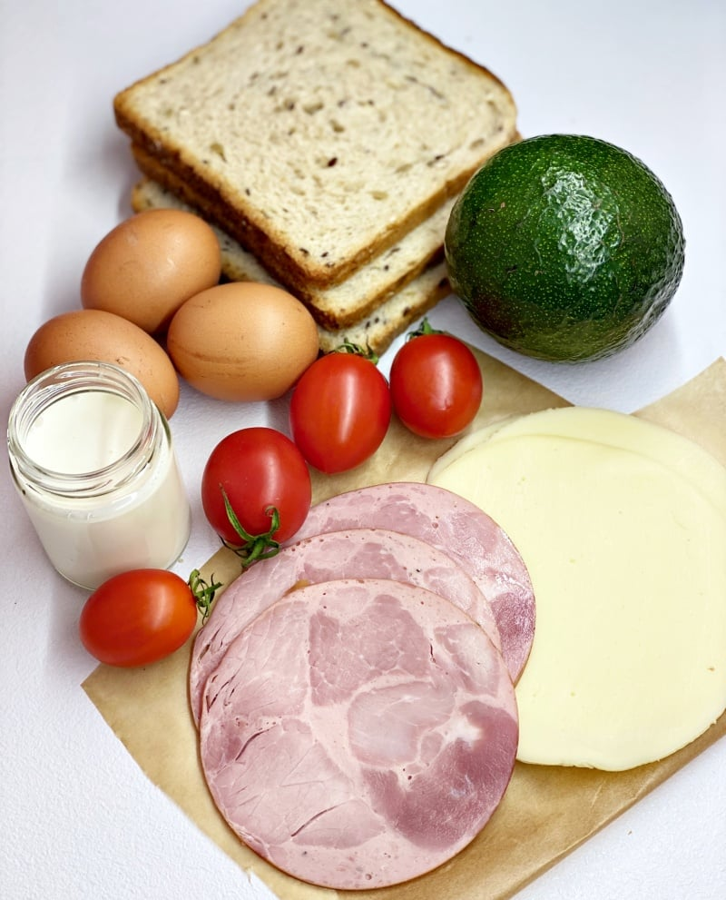 Toast sandwich ingredients