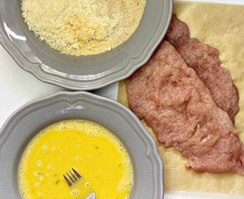 Baked Parmesan Turkey Cutlets